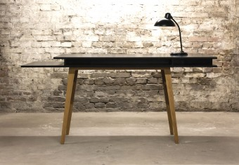 Sigurd Larsen_The Black Desk Front_Danish Furniture
